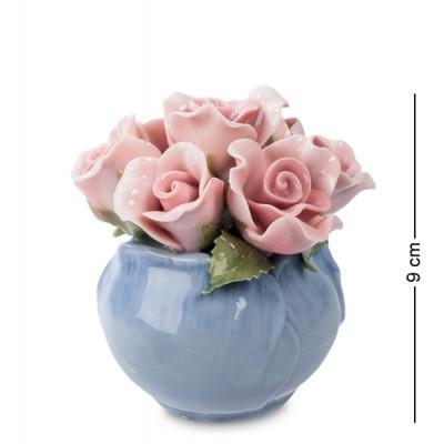 "Композиция ""Розы"", 8,5х8,5х9 см., Pavone, Италия"