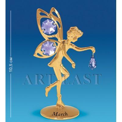 """Фигурка """"Фея"""" - март 6x4x10,5 см., Crystal Temptations, США"""