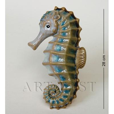 Фигура декор. Моской конек 28 см., керамика