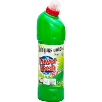 Гель для мытья туалета Power Wash 750 мл (зеленый)