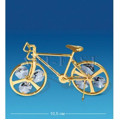 """Фигурка """"Велосипед"""" 10,5x2,5x6 см., Crystal Temptations, США"""