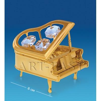 "Фигурка ""Рояль"" 6x4,5x3,5 см., Crystal Temptations, США"