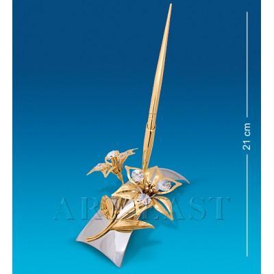 """Письменный прибор """"Лилия"""" 15x14x13,5 см., Crystal Temptations, США"""