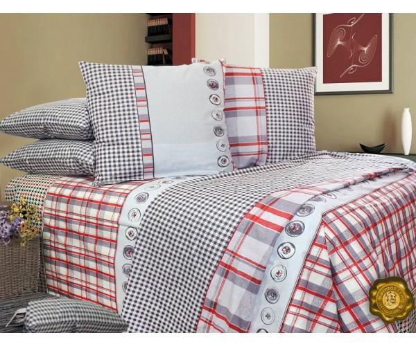 Комплект постельного белья Семейный, Бязь-100% хлопок (ЕТ0551)