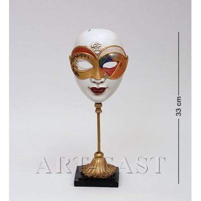 "Фигурка ""Венецианская маска"" 33 см., полистоун Noble Style"