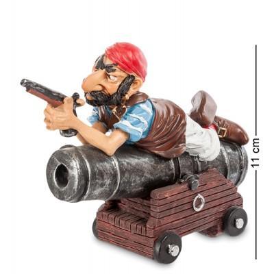 "Фигурка Пират ""Сварливый Дирк"" 14x6x11 см., полистоун Warren Stratford Канада"