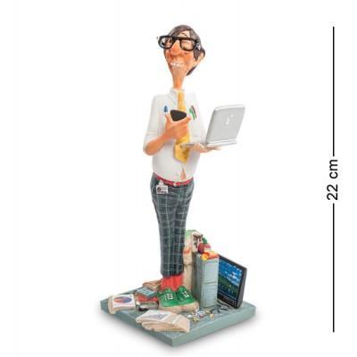 """Статуэтка """"Программист"""" 10x9,5x22 см., полистоун Forchino, Франция"""