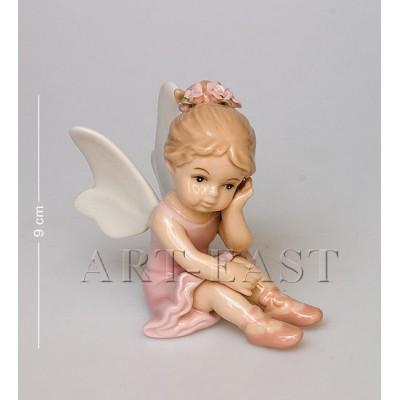 """Фигурка """"Балерина-ангелочек"""", 9,5x6x8,5 см., Pavone, Италия"""