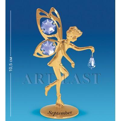 """Фигурка """"Фея"""" - сентябрь 6x4x10,5 см., Crystal Temptations, США"""
