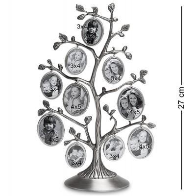 """Коллаж """"Семейное Дерево"""" на 10 фото 4х5/3х4 см., Bellezza Casa, Италия"""