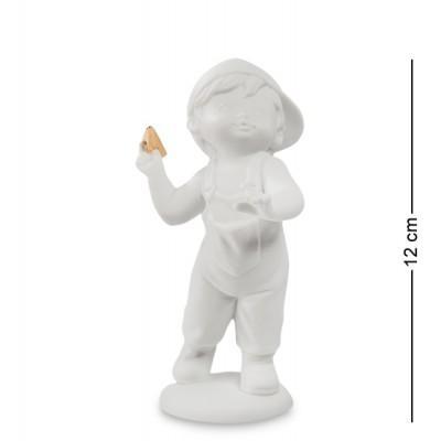 """Фигурка """"Мальчик"""" 7,5x6x12 см., фарфор Pavone, Италия"""