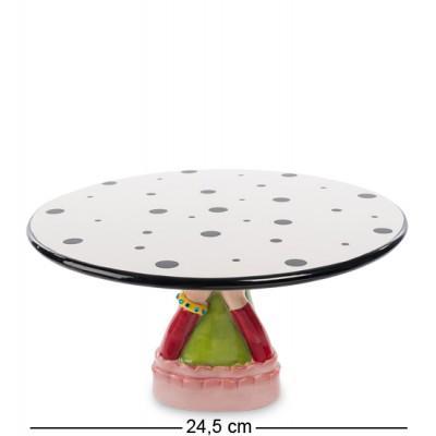 """Тортовница """"Дамские ручки"""" 24,5x24,5x13,5 см., Pavone, Италия"""