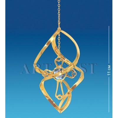 """Фигурка подвесная """"Крест"""" 6x6x28 см., Crystal Temptations, США"""