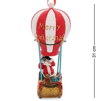 Музыкальный новогодний шар с подсветкой, 12х12х31 см