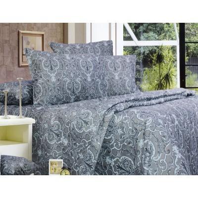 Комплект постельного белья Семейный, Сатин (ЕС0178)