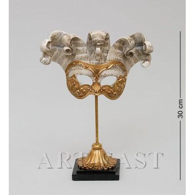 "Фигурка ""Венецианская маска"" 22,5x9,5x30 см., полистоун Noble Style"