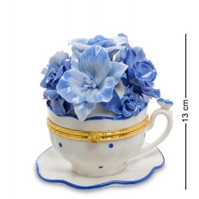 """Композиция """"Чашечка радости"""" 12,5x11,5x12 см., Pavone, Италия"""