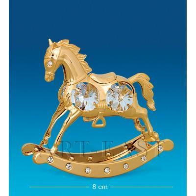 """Фигурка """"Лошадь"""" 8,5x2,5x8 см., Crystal Temptations, США"""