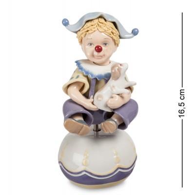 """Музыкальная фигурка """"Клоун"""" 9x10x16,5 см., Pavone, Италия"""