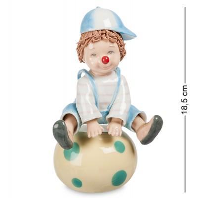 """Музыкальная фигурка """"Клоун"""" 12x10x18,5 см., Pavone, Италия"""