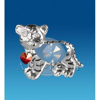 "Фгурка на магните ""Тигр"" 6x3,5x3 см., Crystal Temptations, США"