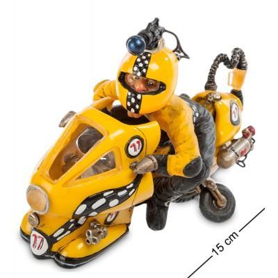 Статуэтка мотоцикл 15 см., полистоун Warren Stratford, Канада