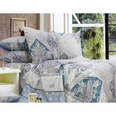 Комплект постельного белья Полуторный, Бязь-100% хлопок (1.5-сп.ЕТ0680)