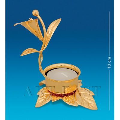 "Фигурка-подсвечник ""Тюльпан"" 10,5x9x10 см., Crystal Temptations, США"