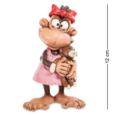 """Фигурка Обезьяна """"Любимая игрушка"""", 7,5x6x12 см., полистоун Warren Stratford, Канада"""