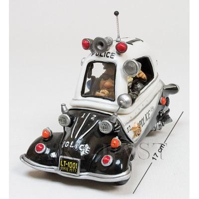 """Статуэтка машина """"Police Car"""", 17 см., полистоун Warren Stratford, Канада"""