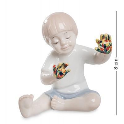 """Фигурка """"Юный художник"""" 7,5x6x8 см., фарфор Pavone, Италия"""