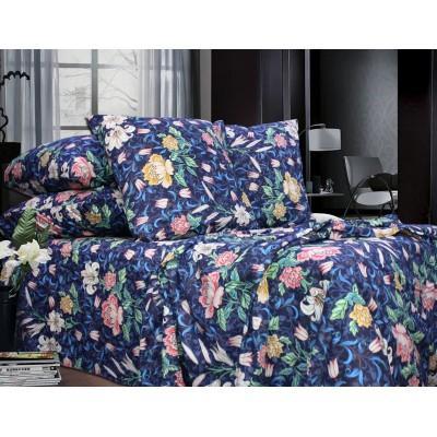 Комплект постельного белья Полуторный, Бязь-100% хлопок (1.5-сп.ЕТ0672)