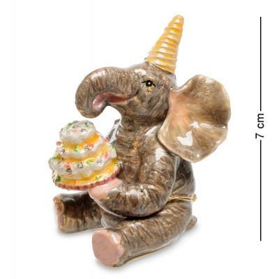 """Фигурка-шкатулка """"Слон"""" 5,5x5x7 см., Nobility, Гонконг"""