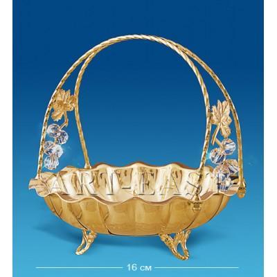 Конфетница 16x16x17 см., Crystal Temptations, США