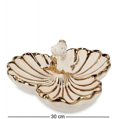 """Менажница """"Золотая Рыбка"""" 30x30,5x16 см., Art Ceramic, Чехия"""