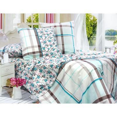Комплект постельного белья Евро, Бязь-100% хлопок (ЕТ0703)