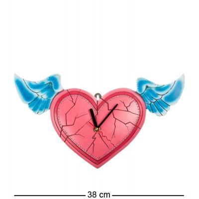"Часы ""Время любви"" 38x5x21 см., полистоун Warren Stratford Канада"