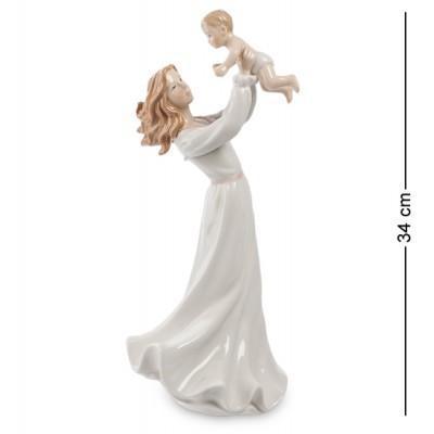"""Фигурка """"Девушка с ребенком"""" 16x12x34 см., Pavone, Италия"""