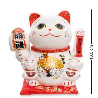 """Статуэтка """"Кошка манэки-нэко"""", 19x12x19 см"""