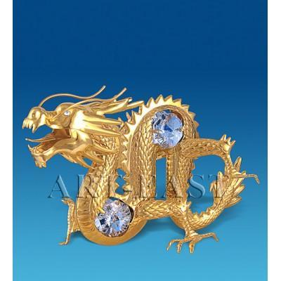 """Фигурка """"Дракон"""" 10,5x6x7,5 см., Crystal Temptations, США"""