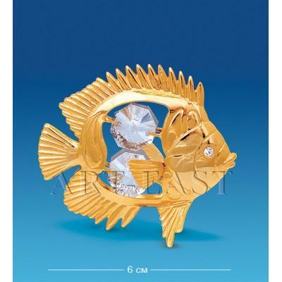 "Фигурка ""Рыбка-Дискус"" 6x4x5,5 см., Crystal Temptations, США"
