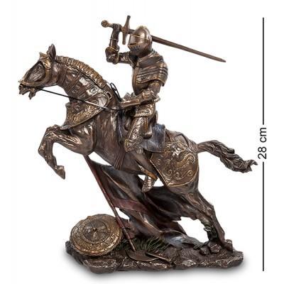 """Статуэтка """"Рыцарь на коне"""", 26х9х28 см., полистоун Veronese, Гонконг"""
