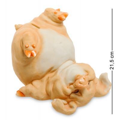 "Статуэтка-копилка ""Свинья"" 26x23x21,5 см., полистоун Sealmark, США"
