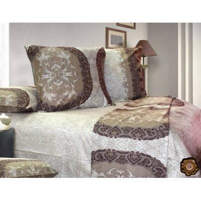Комплект постельного белья Полуторный, Сатин (1.5-сп.ЕС0095)