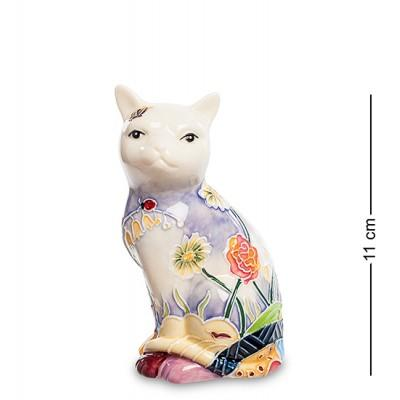 """Фигурка """"Кошка"""" 6x5,5x11 см., фарфор Pavone, Италия"""