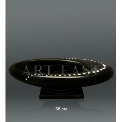 Ваза 65 см., с кристаллами Сваровски AHURA, Италия