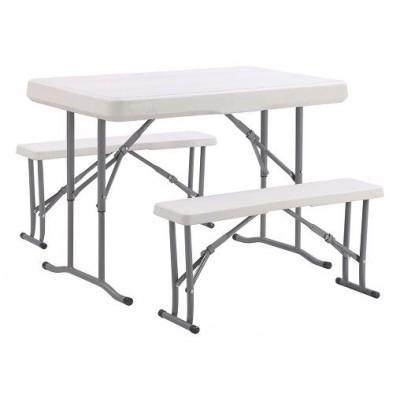 Набор мебели для пикника Time Eco TE-1812, стол и две лавки
