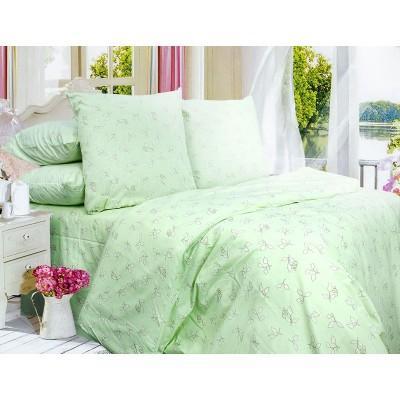 Комплект постельного белья Евро, Бязь-100% хлопок (ЕТ0634)