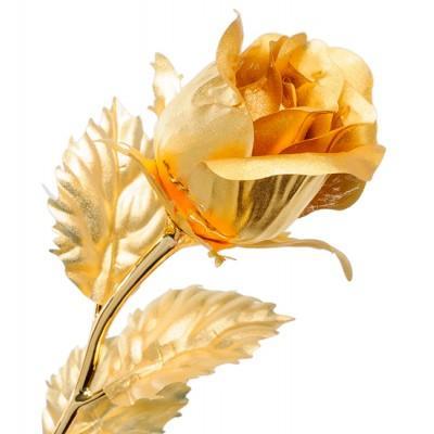 Роза - бутон 26 см., Gold Leaf Италия