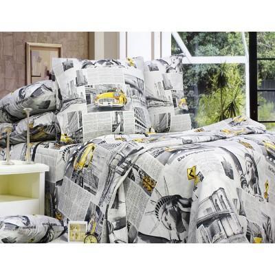 Комплект постельного белья Евро, Бязь-100% хлопок (ЕТ0665)